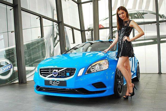 S60 Polestar Concept將在台北車展亮相。 記者趙惠群/攝影