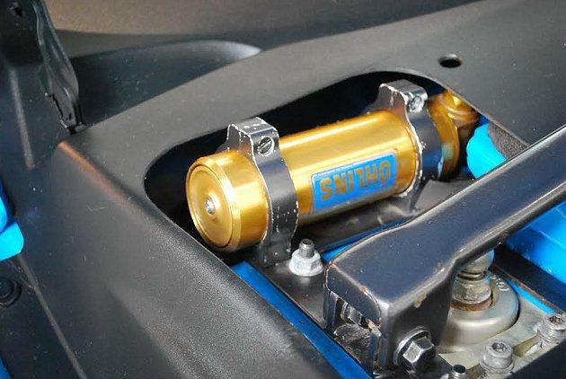 S60 Polestar Concept底盤經過調校與強化,並結合Ohlins的...