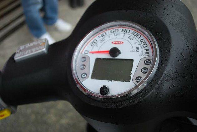 J-BUBU ABS的儀表板。 記者趙惠群/攝影