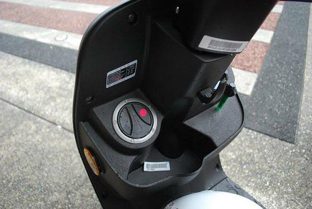 J-BUBU ABS的小巧置物空間。 記者趙惠群/攝影