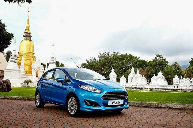 新一代Fiesta將在台北車展與車迷見面。 Ford