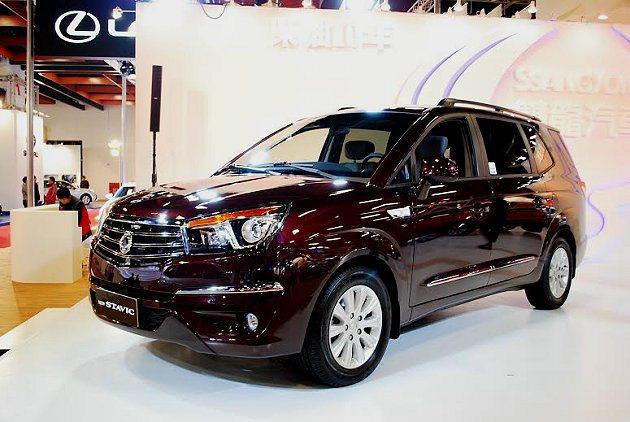 全新Stavic車價在150萬以內,可說是車展最超值的車款之一。 記者趙惠群/攝...