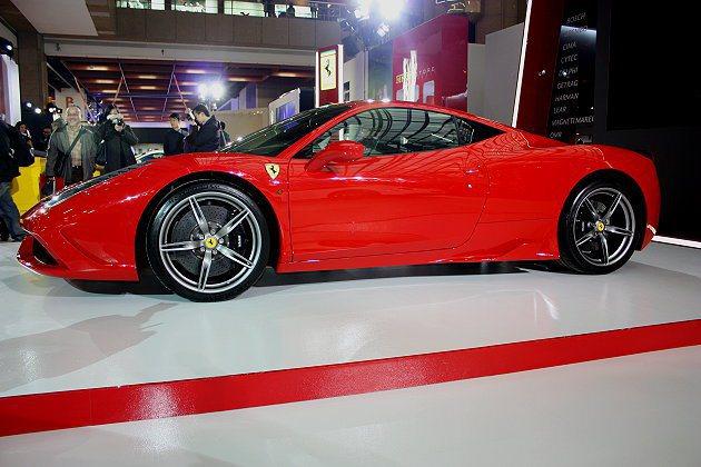458 Speciale搭載的4.5升V8引擎,連兩年獲得Internation...