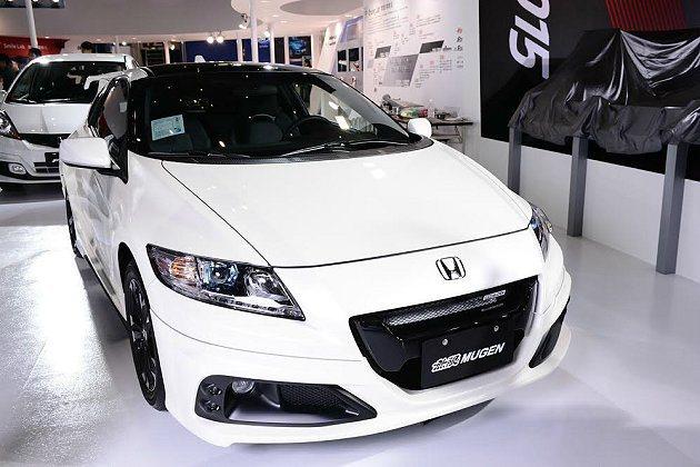MUGEN加身的雙門鋼砲CR-Z。 Honda提供