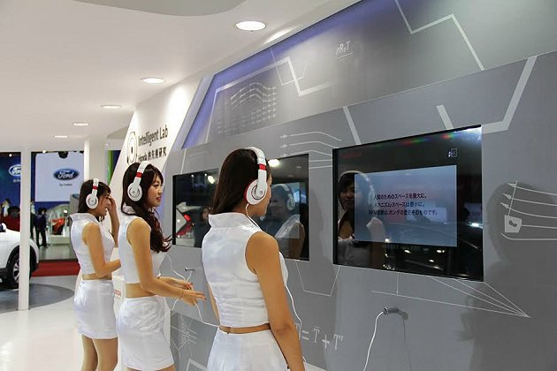 介紹Honda先進車輛科技的Intelligent Lab。 Honda提供