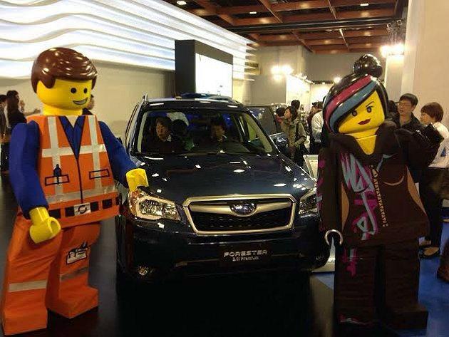 Subaru展區從12月28日開展日至1月3日為止,訂單累積已經超過60張。 S...