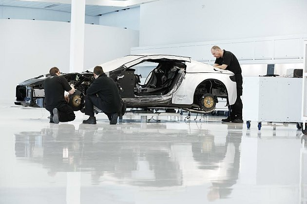 Aston Martin跑車的強項在於它的底盤科技。 Aston Martin提...