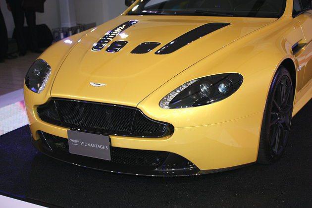 V12 Vantage S相信會吸引不少熱血玩家。 記者林和謙/攝影