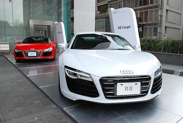 台灣奧迪慶祝來台五周年,並宣布年度新策略,今年將強攻性能車市場,並會持續擴建新據...