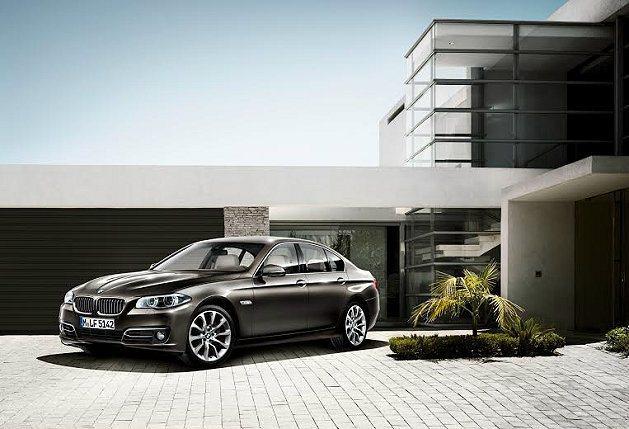 全新BMW 5系列房車Modern Line。 BMW提供