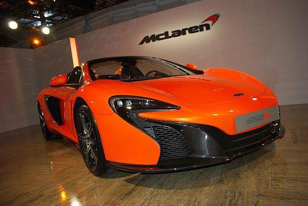 McLaren 650S Spider。 記者趙惠群/攝影