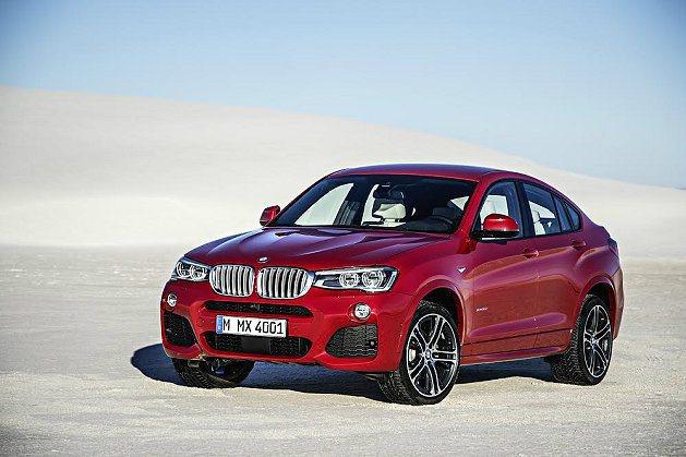 BMW新開發小型的X4跨界休旅車,已在紐約車展正式發表。 BMW提供