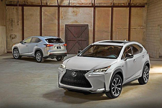 Lexus釋出全新NX小型跨界休旅官方照。 Lexus提供