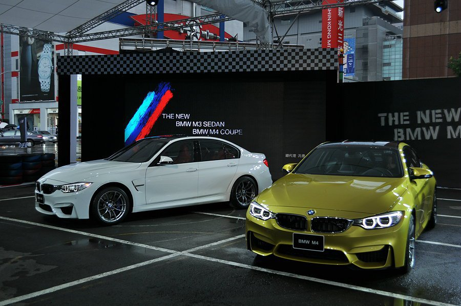 BMW總代理汎德汽車在21日正式發表全新性能戰駒M3、M4 記者許信文/攝影