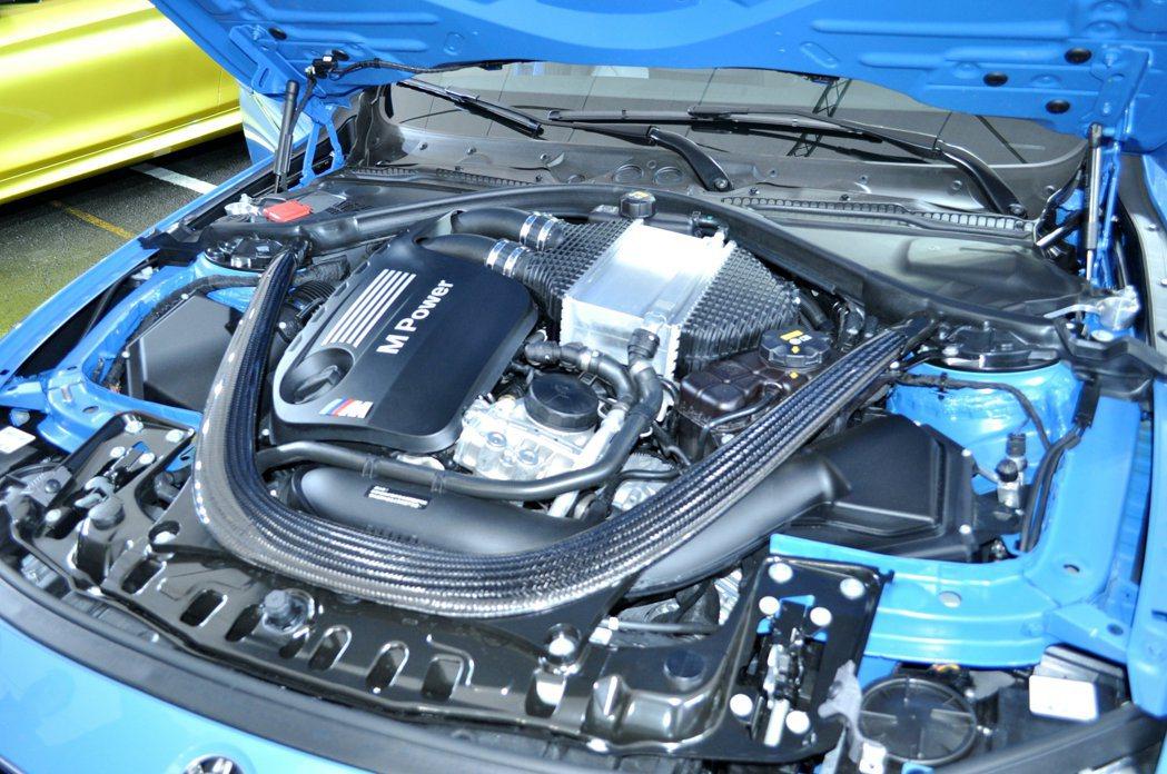 全新M3/M4動力搭載BMW M TwinPower Turbo 3.0升雙渦輪...