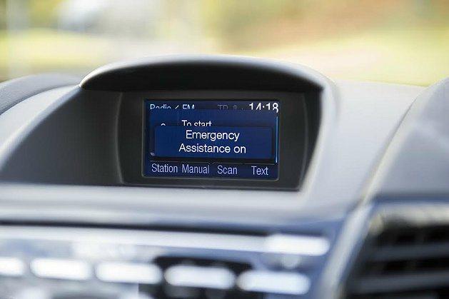 Emergency Assistance緊急救援系統能在車輛發生事故時主動通知警...