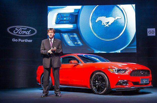 福特提前在CPMPUTEX展覽中展示6代 Mustang,它搭載SYNC等最新科...