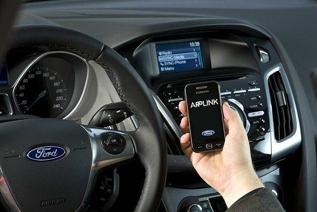 AppLink。 Ford提供
