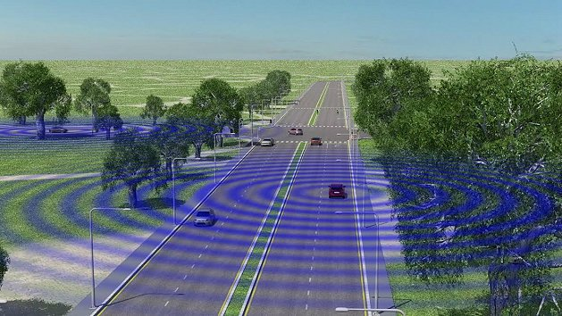 V2V建立於Wi-Fi無線傳輸科技基礎上,車輛之間可分享彼此的行車速度、相對位置...