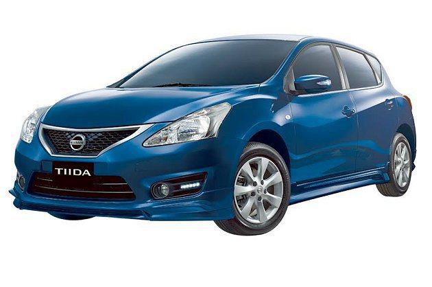 優質進化的500台Nissan Big Tiida SR限量版,外型、配備全面升...