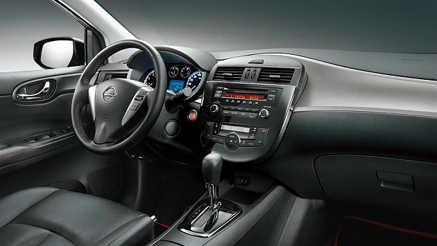 Nissan Big Tiida SR限量版搭載多項專屬魅力套件,注入動感靈魂,...