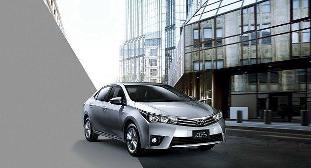 Altis 5月銷售長紅,為品牌市占再強力拉抬創下今年來新高。 Toyota提供