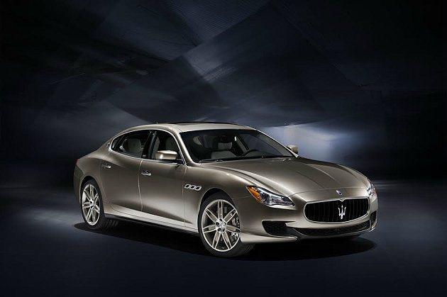 Maserati Quattroporte Ermenegildo Zegna百...