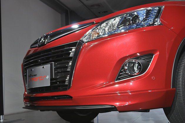 車頭的湛藍LED駐車燈,讓U6 Turbo Sports+更彰顯運動特質與個性。...