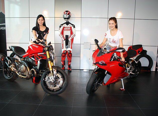 Ducati兩款新車Monster 1200S以及899 Panigale正式發...