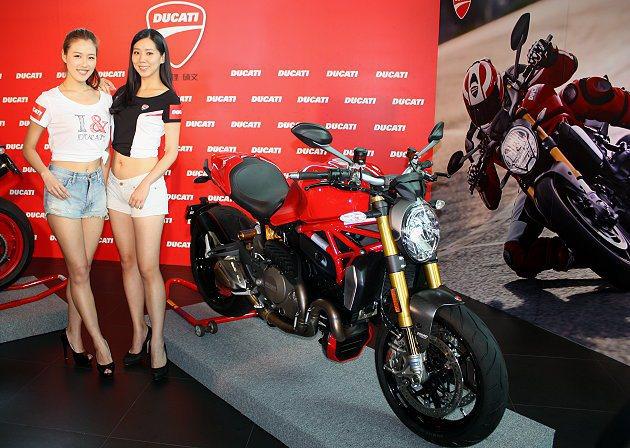 Monster 1200S售價103.8萬。 記者林和謙/攝影