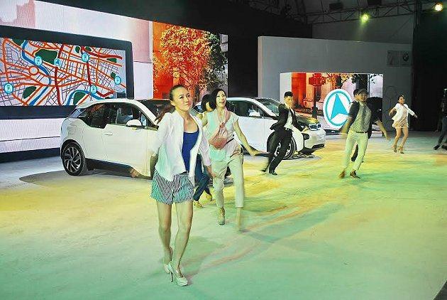 BMW i的綠能車款26日正式在台發表上市。 記者趙惠群/攝影