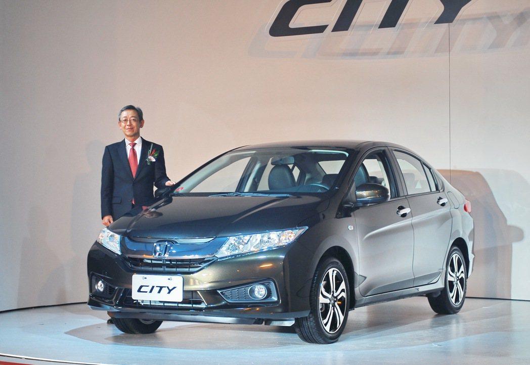 Honda Tawan董事長牧野朗表示,全新CITY經過大幅進化,提供更優越的駕...