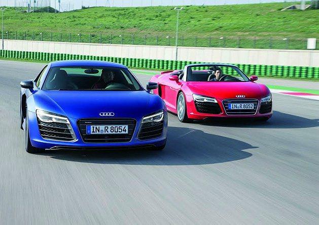 R8 V10計畫年底前引進台灣市場。 Audi提供