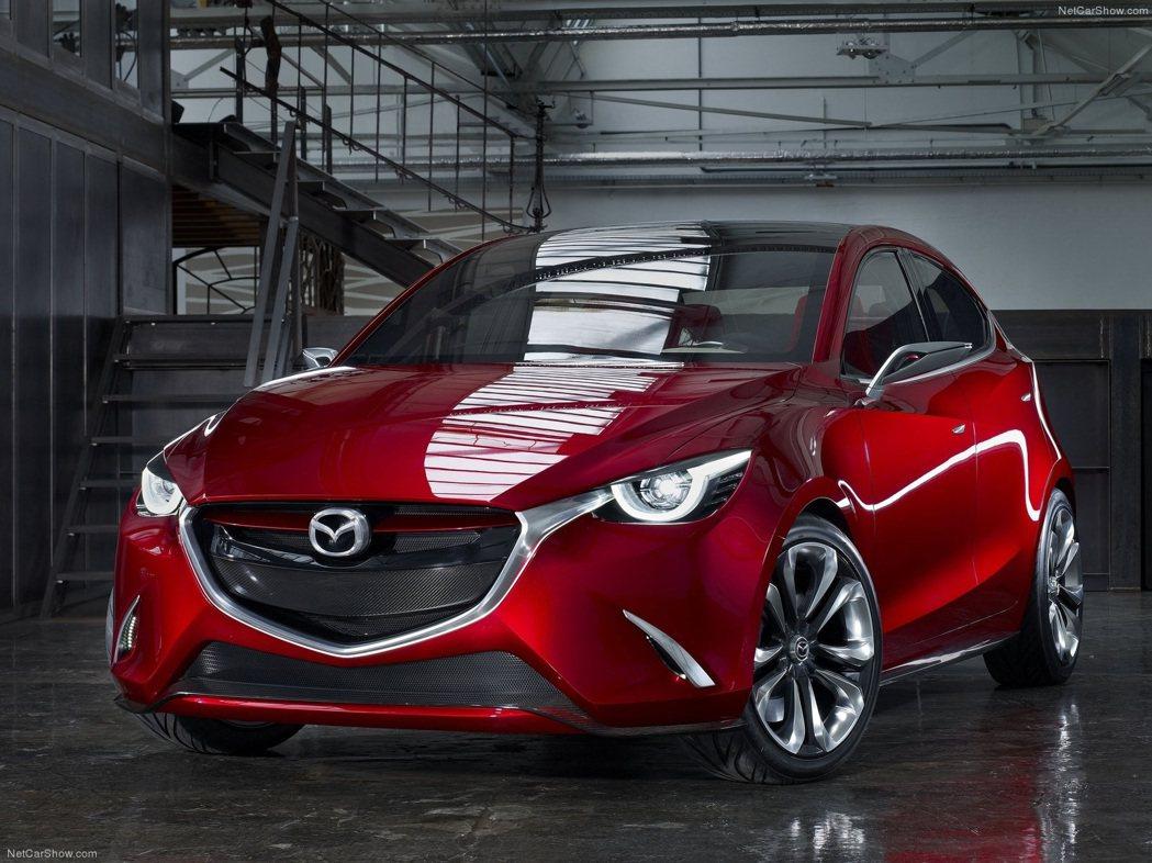 Mazda全新小型休旅車CX-3將以Mazda的Hazumi概念車為基礎而衍生,...