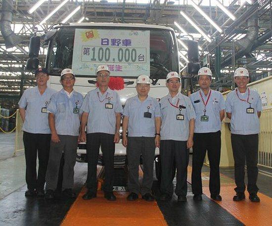 國瑞創立30周年之際,達成大型車生產累計10萬輛的新紀錄。 TOYOTA提供