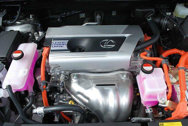 Hybrid油電複合動力系統。 記者趙惠群/攝影