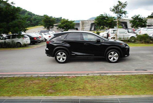 NX除了有高效環保動力系統,車型也具備十足賣點。 記者趙惠群/攝影