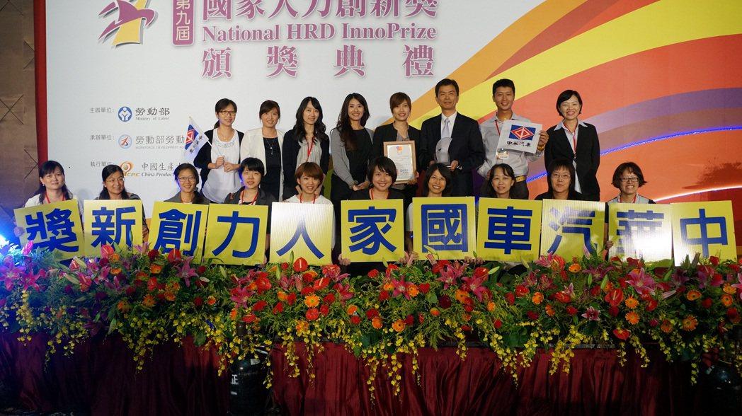 中華汽車持續秉持以人為本的經營理念,致力於人才培育,今年再度榮獲「國家人力創新獎...