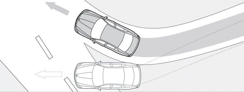 車子有沒ESC在過速過彎或過彎碰上濕滑路面,行進路線就有明顯差異,沒有ESC的車...
