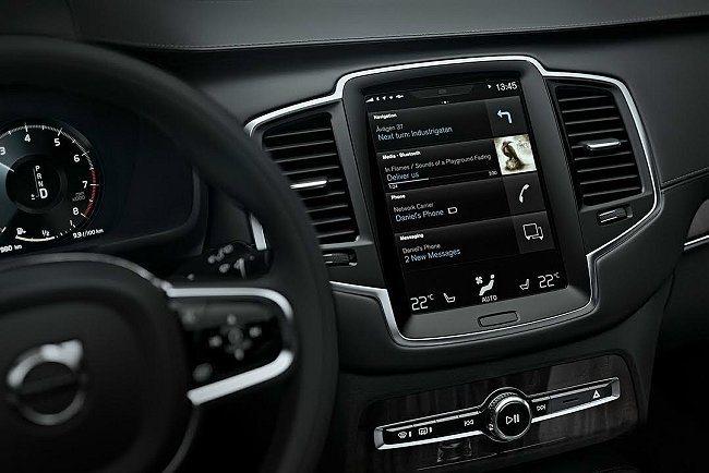 全新VOLVO XC90不但幾乎將iPad搬上車,APPLE打造稱之為 CarP...