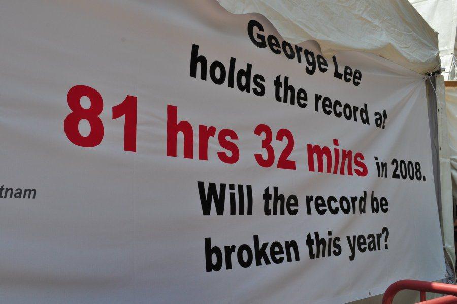 決賽前,2008年所創下的81時32分記錄仍高懸無人能破。 記者許信文/攝影