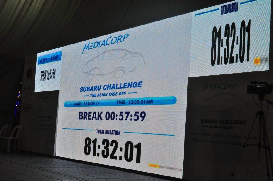 11月12日凌晨12點02分,場上還有四位參賽者共同打破舊記錄,人數跟時間同創新...