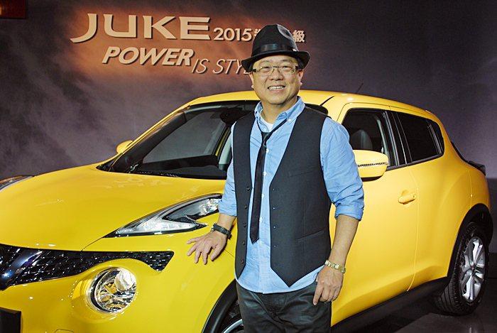 裕隆日產協理李振成表示,Juke改款之後,預計明年銷售目標上看1200台。 記者...