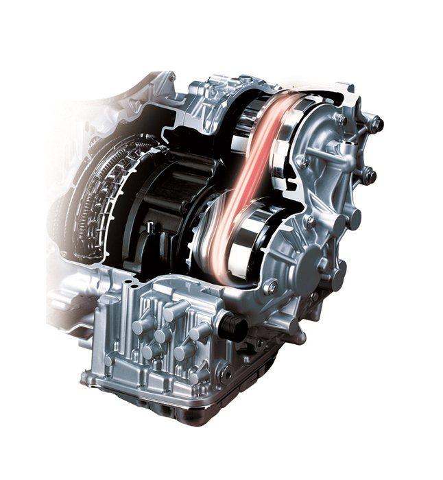 全新XTRONIC CVT無段變速系統,創造出色的低油耗。 NISSAN提供