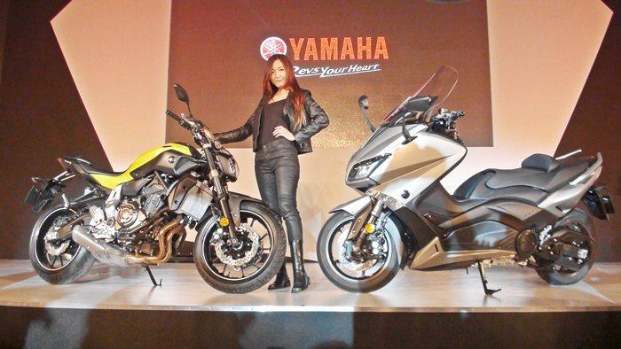 今年ABS重機和電動機車是市場主流,Yamaha山一口氣發表三款新車,包括全球首...