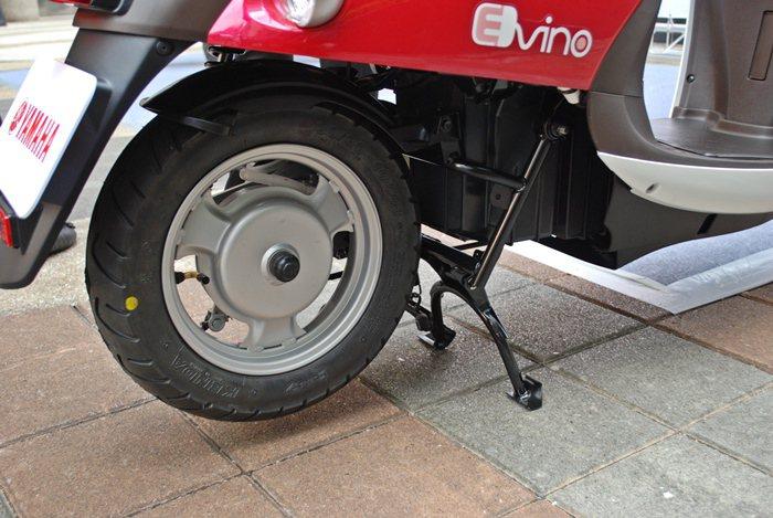E-VINO搭載多磁極數電動馬達,起步加速輕盈。  記者趙惠群/攝影