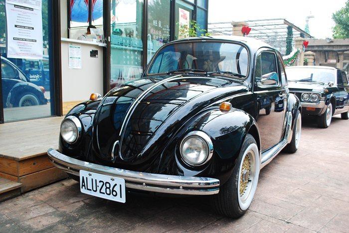 陳和皇1982年1200cc 的VW老金龜。  記者趙惠群/攝影