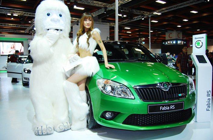 德國福斯汽車集團台灣分公司明年1月營運,集團宣集團下的SKODA 25日搶先掛牌...