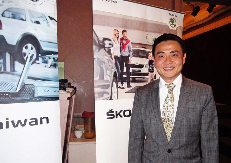 SKODA TAIWAN總裁李御林預告,SKODA旗下7個車系明年都將進入全新世...