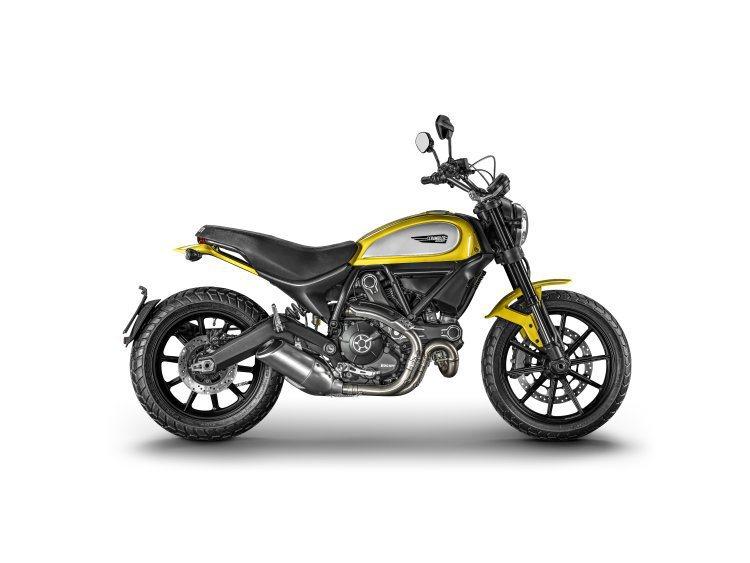Ducati SCRAMBLER也是因應復古風潮誕生的新一代復古車種,在國內已經...